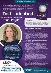 Poster Dod i Adnabod Awdur Fflur Dafydd