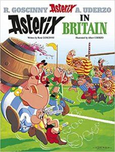 Clawr Asterix in Britain