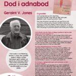 Poster Dod i Adnabod yr Awdur Geraint V. Jones JPEG